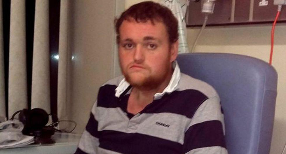 Mark Stuart murió a los 22 años después de cinco días ingresado en un hospital sin ingerir alimentos. Foto: FAMILIA STUART, vía BBC Mundo