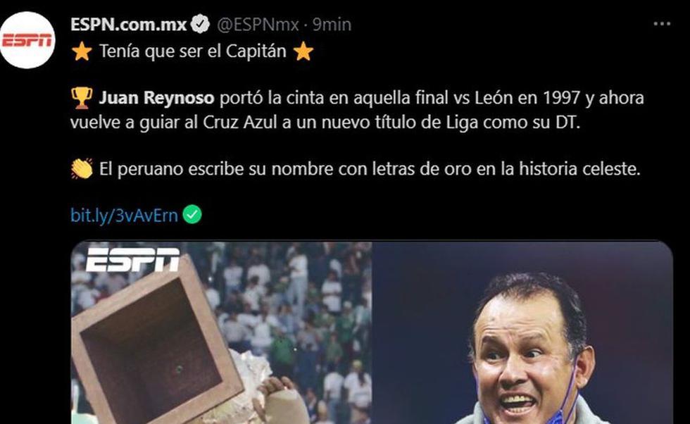 ESPN México  (Captura: Twitter)