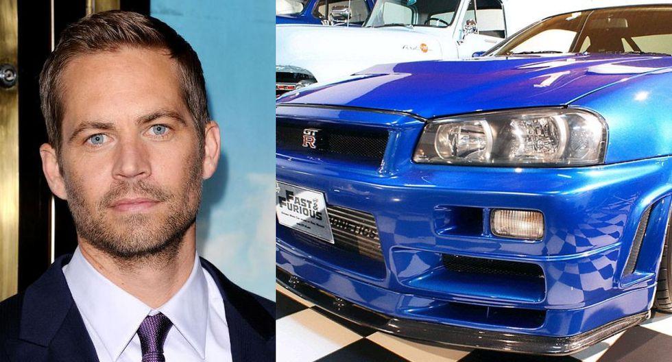 Paul Walker: Venden el Nissan Skyline GT-R que uso el actor - 1