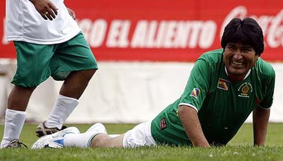 Evo expresa preocupación por la selección de fútbol de Bolivia