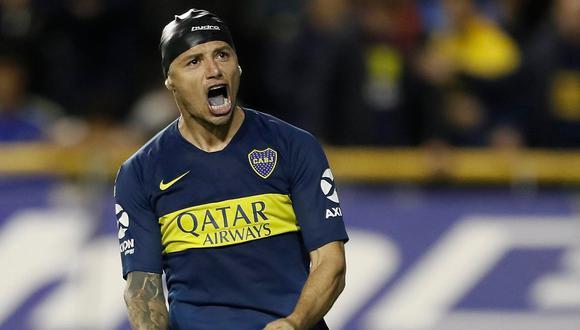 Mauro Zarate protagonizó un festejo excesivo en la victoria de Boca Juniors vs. Vélez Sarsfield.