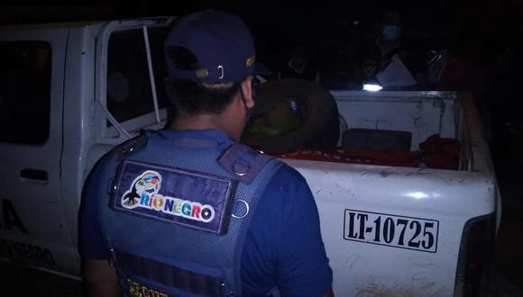 Homicidio en Satipo. (Foto: Municipalidad de Río Negro)