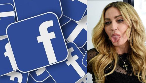Instagram (red social propiedad de Facebook) eliminó un video de Madonna por difundir información falsa sobre el coronavirus. (EFE)