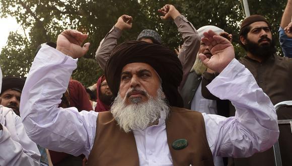 El Gobierno de Pakistán anunció la detención de Khadim Hussain Rizvi, el líder islamista que lideró las protestas contra la absolución de la cristiana Asia Bibi del delito de blasfemia. (AFP)