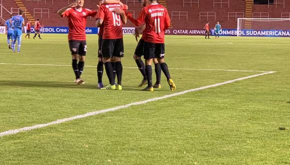 Binacional no pudo ante Independiente en el Estadio Monumental de la UNSA y cayó 2-1 por el pase a segunda fase de la Copa Sudamericana. (Foto: Twitter Independiente)