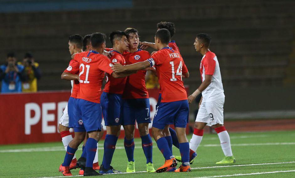 Chile vs. Perú EN VIVO ONLINE vía Movistar Deportes: 3-0 por el hexagonal del Sudamericano Sub 17. | Foto: Violeta Ayasta/GEC