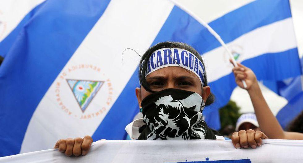 Nicaragua: Denuncian captura masiva de manifestantes opositores. (Foto: AFP)