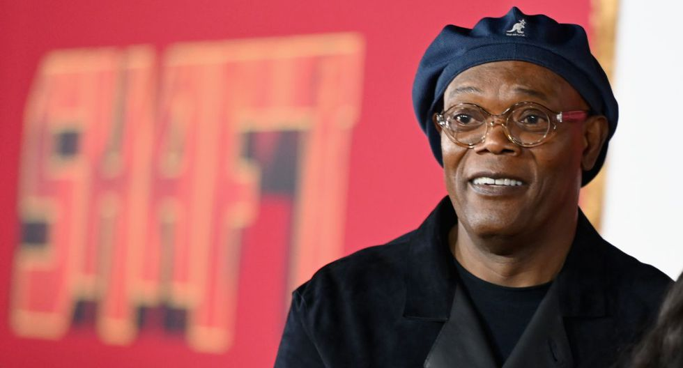 """US actor Samuel L. Jackson attends the premiere of """"Shaft"""" at AMC Lincoln Square on June 10, 2019 in New York City. (Photo by Angela Weiss / AFP)"""