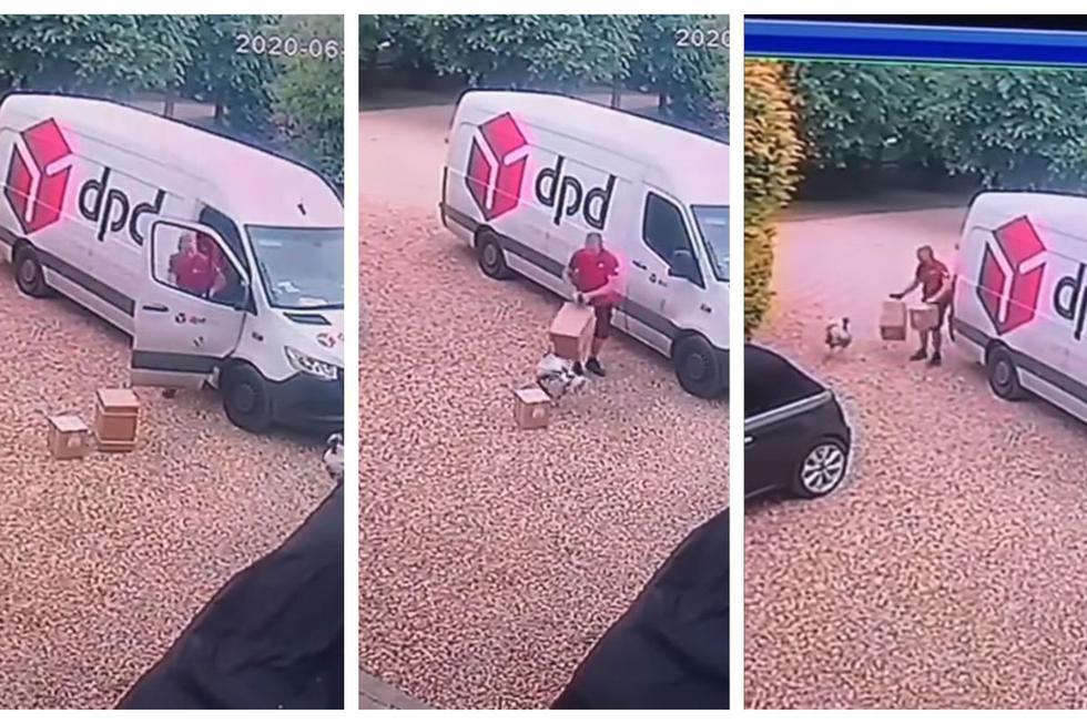 Imágenes del video de Facebook.