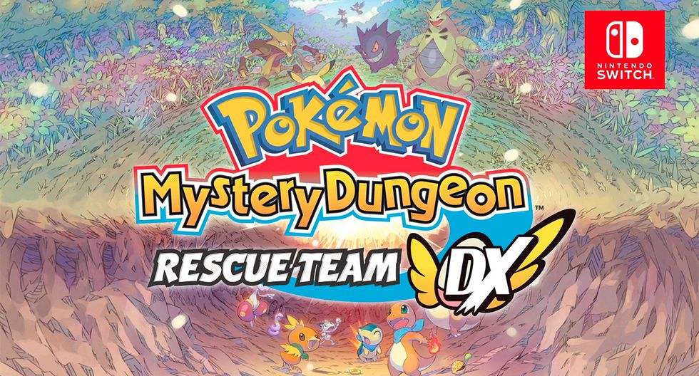 Pokémon Mystery Dungeon: Rescue Team.(Difusión)