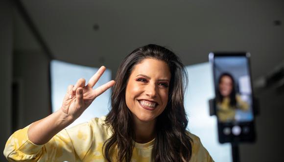 María Pía Copello es una de las peruanas con más seguidores en Tik Tok. Casi millón y medio de personas consume sus contenidos en esa red social. (Foto: Elías Alfageme).