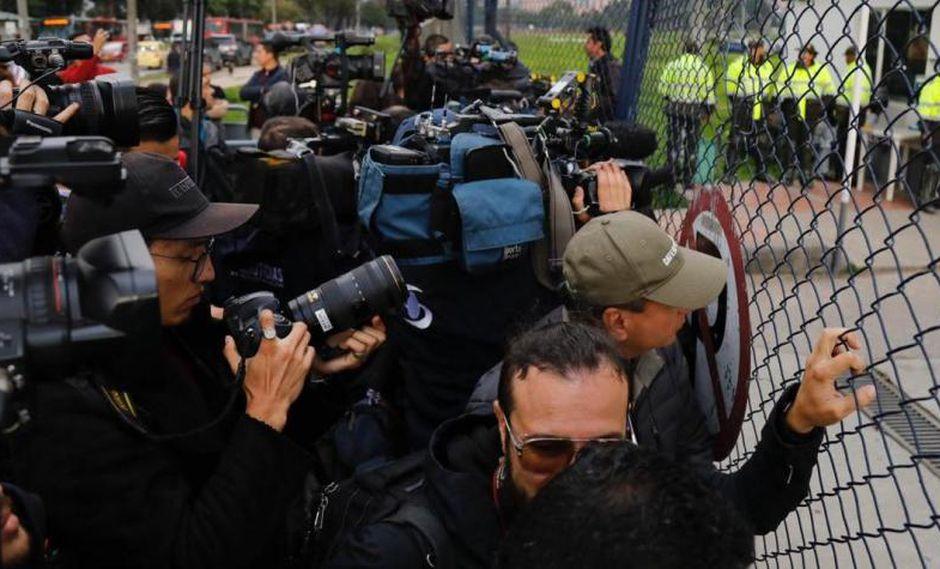 Salida de la cárcel La Picota. Foto: El Tiempo/ GDA