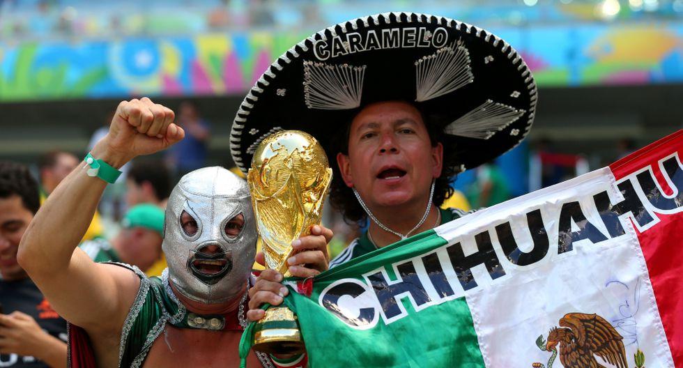 Holanda vs. México: belleza azteca y máscaras en el Castelao - 16