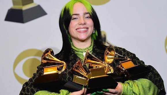 """La artista ha conseguido nominaciones en las principales categoría como Grabación del año o Canción del año, gracias a su single """"Everything I Wanted"""". (Foto: AFP)"""