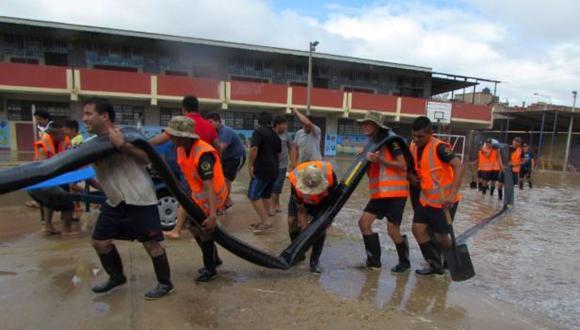 Lluvias afectaron más de 1.000 colegios en Piura y La Libertad