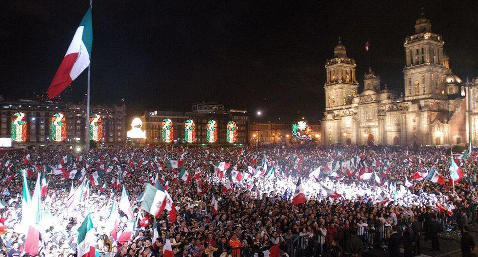 La explanada del Zócalo de Ciudad de México no es el único lugar para celebrar el 209 aniversario del Grito de Independencia. (Foto: EFE)