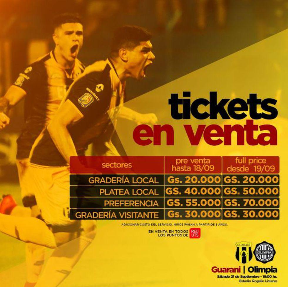 Olimpia vs Guaraní EN VIVO vía Tigo Sports: por fecha 10° del Clausura 2019 del fútbol de Paraguay. (Foto: Twitter Guaraní)