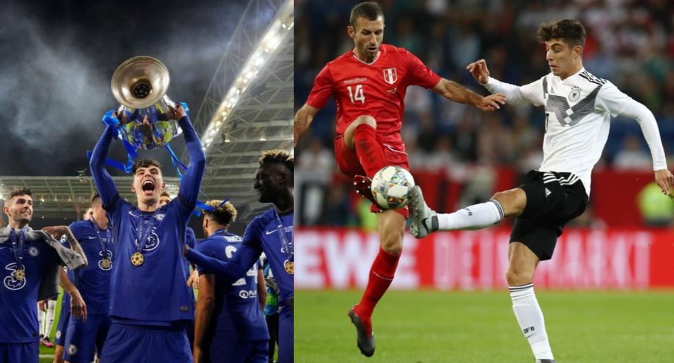 Kai Havertz marcó su primer gol en la Champions League en una final. Fue para el 1-0 ante el Manchester City.