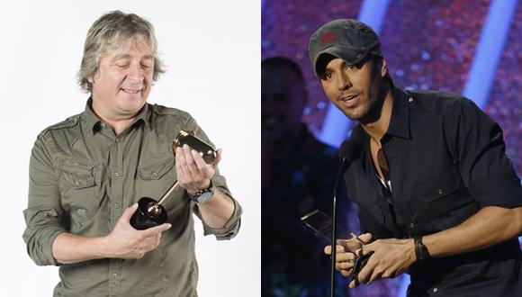 Pelo D'Ambrosio asegura que su tema es muy parecido al de Enrique Iglesias. (Fotos: El Comercio/ AP)