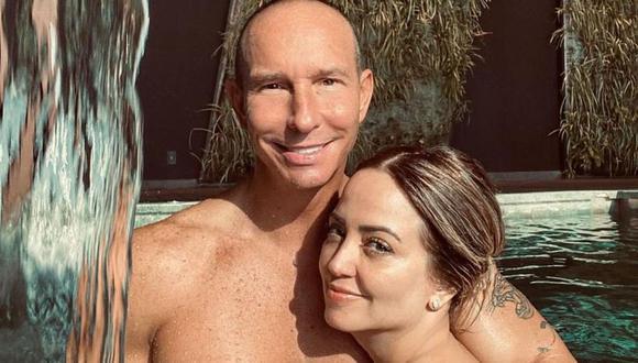 Andrea Legarreta y Erik Rubín lleva muchos años de casados, pero no han estado ajenos a los escándalos (Foto: Andrea Legarreta/Instagram)