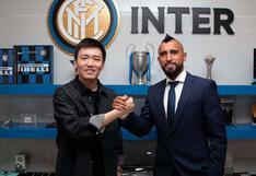 Arturo Vidal fue anunciado como fichaje de Inter tras dos años en Barcelona