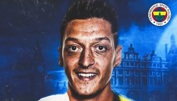 Mesut Özil firmó contrato con el Fenerbahce hasta mediados del 2024. (Foto: Fenerbahce)