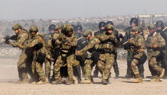 Las tropas habían sido desplegadas el año pasado por su predecesora republicana, Susana Martínez, a petición del presidente Donald Trump. (Foto referencial: AFP)
