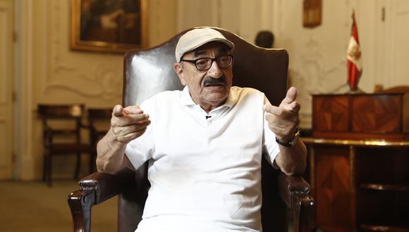 El congresista Fernández Chacón indicó que su separación del Frente Amplio se debe a diferencias políticas. (Foto: GEC)