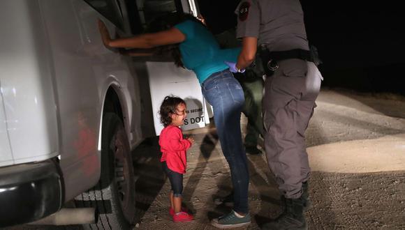 Más de 100 mil niños detenidos por migración en Estados Unidos, dice la ONU. Foto: AFP