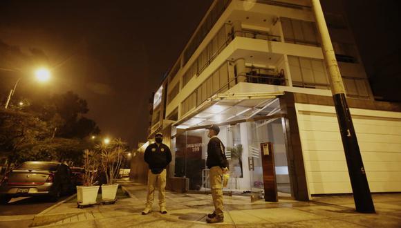 La diligencia contempla el allanamiento de ocho inmuebles: seis de investigados y dos de testigos. (Foto: César Grados/GEC)