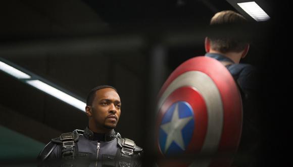 """Anthony Mackie: habla """"El halcón"""" de """"Capitán América"""""""