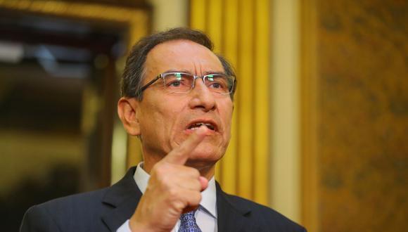 """""""Este gobierno no pretende realizar una reforma laboral que recorte los derechos de los trabajadores, ni de quienes se incorporen al mercado laboral"""", precisó Martín Vizcarra en su mensaje a la Nación."""