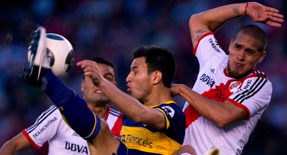 Los Boca vs. River siempre han sido mediáticos. Más aún cuando se trata de la final de la Copa Libertadores. (Foto: AFP)