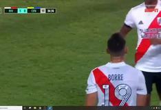 River Plate vs. Rosario Central: ¡De '9′! Borré y el golazo para el 1-0 de los millonarios en el Monumental   VIDEO