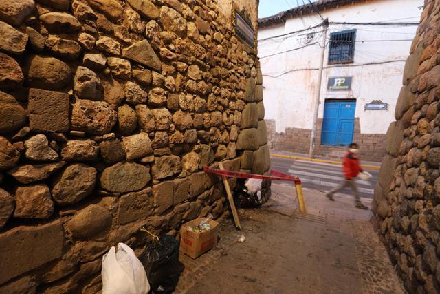 El atentado ocurrió en la calle Cabra Kancha, ubicada en el centro histórico de Cusco.  (Melissa Valdivia)