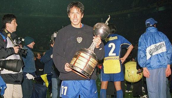 José Pereda no fue titular en Boca Juniors, pero ganó cosas importantes como la Copa Intercontinental. (Fotos: Getty/Agencias)