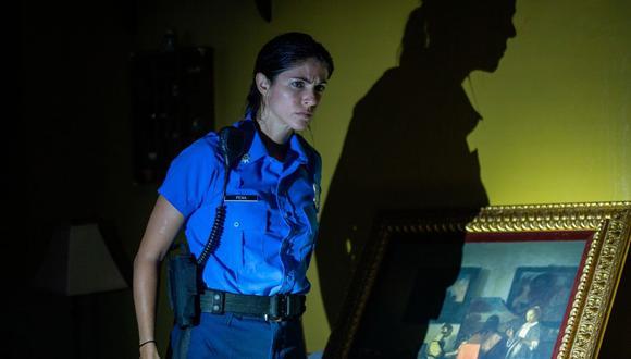 """La actriz Stephanie Cayo estrena hoy """"Force of Nature"""", cinta al lado de Mel Gibson. (EFE)."""