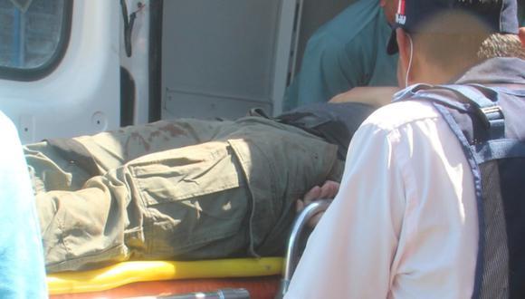 Ladrones llegaron en dos motos e interceptaron la unidad de la víctima (Foto: PNP)