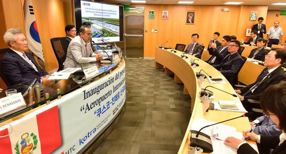 Viceministro de Transportes, Carlos Estremadoyro, dijo que proyecto implica un desarrollo para el Cusco y toda la zona sur del país. (Foto: MTC)