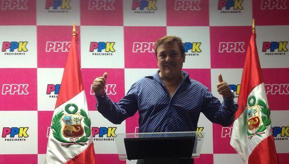Richard Swing apoyó la campaña presidencial de PPK y de Martín Vizcarra como integrante de su plancha. (Foto: Facebook Richard Swing)