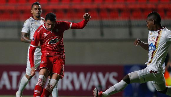 La Calera igualó 0-0 frente a Tolima por la Copa Sudamericana