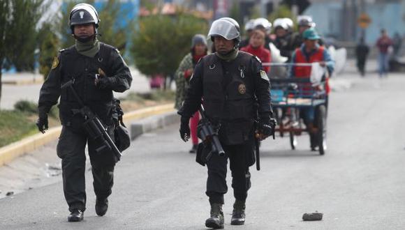 Las Bambas: ministro del Interior manifiesta su respaldo a PNP
