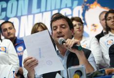 Elecciones 2021: PPS pide al JNE ampliar plazo para solicita inscripción de alianzas