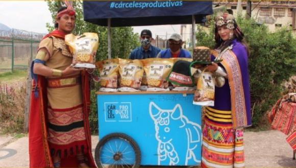 Cusco: Penal de Varones presentó su panetón Inti Raymi y venderá 5 mil unidades | Foto: INPE
