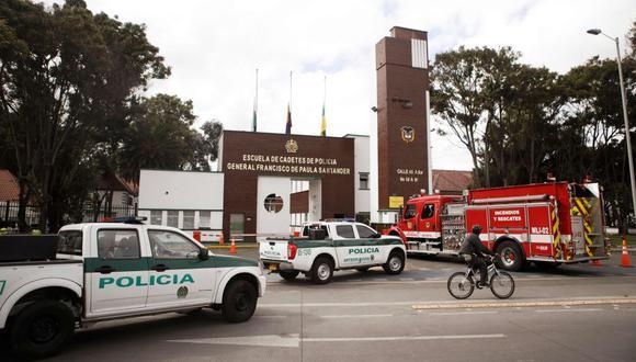 Atentado en Bogotá: capturan a segundo implicado en ataque que dejó 13 muertos. (Foto: AFP)