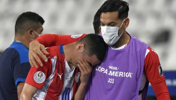 Paraguay confirmó lesión de Miguel Almirón antes del partido con Perú (Foto: Agencias)