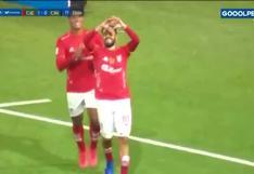 Sporting Cristal vs. Cienciano: 'Lucho' García marcó el 1-0 para los cusqueños | VIDEO