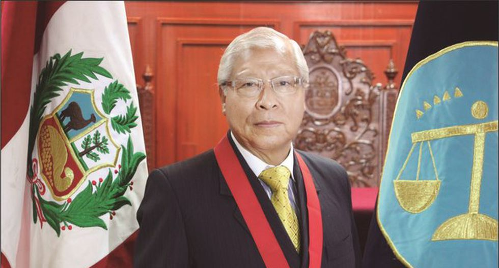EL juez supremo provisional Jorge Castañeda, decidió apartarse del proceso judicial de Keiko Fujimori. (Foto: Poder Judicial)
