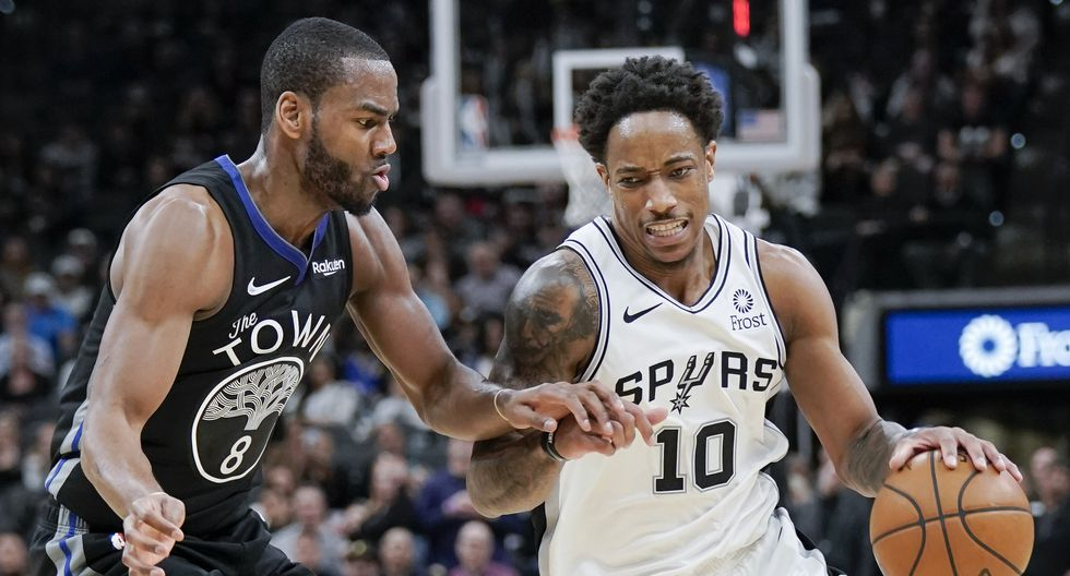 El escolta DeMar DeRozan tuvo 24 puntos con los Spurs de San Antonio   Foto: AP