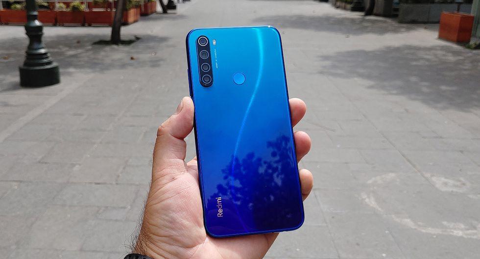 El Redmi Note 8 de Xiaomi es la nueva versión de un móvil que tuvo  mucha demanda en el mercado local. (Foto: Bruno Ortiz B.)